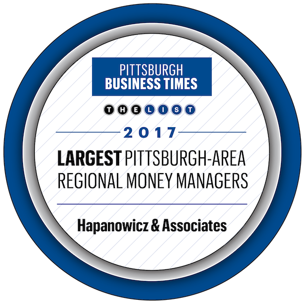 Largest Money Managers Pittsburgh 2017 Hapanowicz & Associates