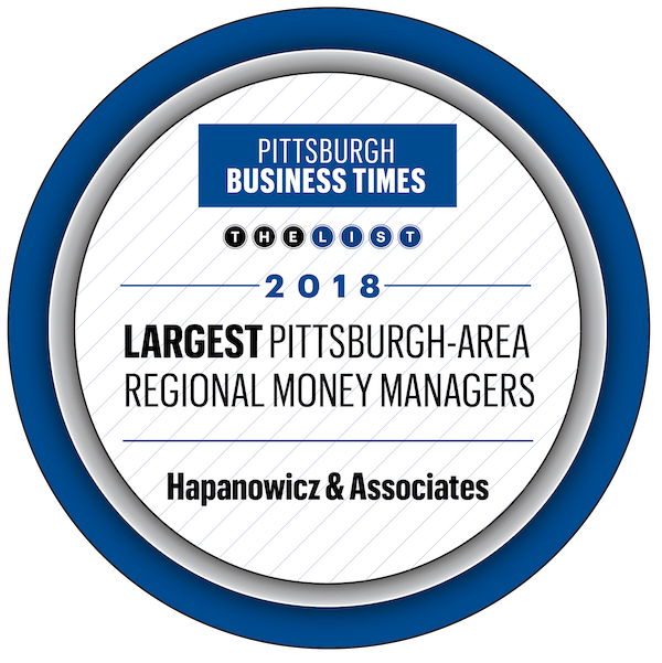 Largest Money Managers Pittsburgh 2018 Hapanowicz & Associates