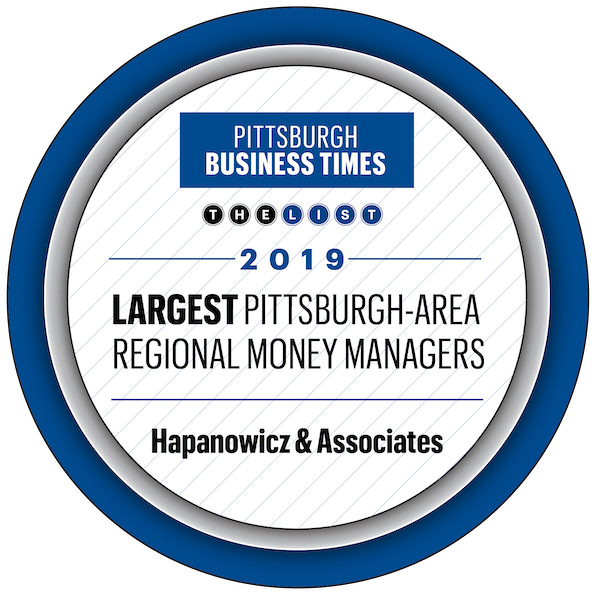 Largest Money Managers Pittsburgh 2019 Hapanowicz & Associates